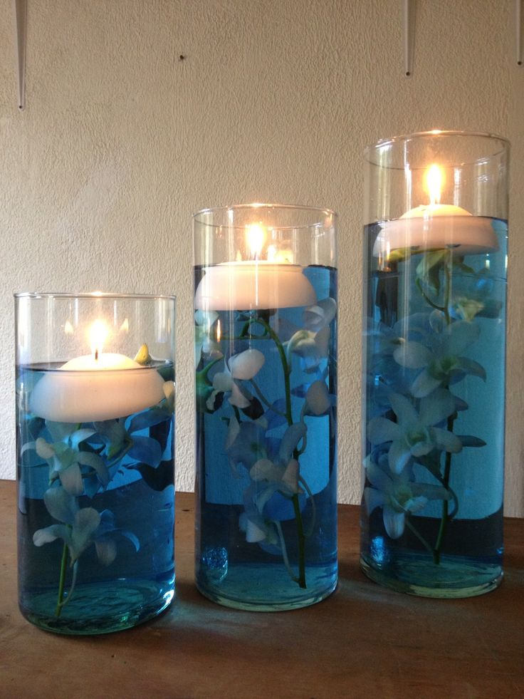 10 best images about 2014 family reunion on pinterest for Candle centrepiece