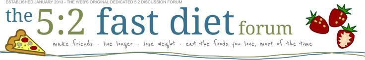 the 5:2 fast diet forum