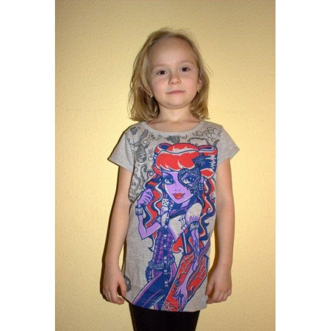 Monster High szürke póló Akciós áron 1600 Ft. Új gyerekruha webáruház.