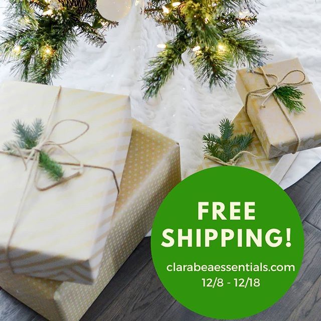 FREE SHIPPING  is still going on!! Many of you have already taken advantage of it for those who have not you still have  until Dec. 18th!!  #ClaraBea #naturalproducts . . . . . . . #FreeShipping #sales #shopping #ShopClaraBea #BeasBeardBrand #HolidaySale #thatsdarling #choosenatural #hair #healthyhair #skintrends  #hairtrends #healthyskin  #naturalproducts  #beardproducts #mencare #beautycommunity