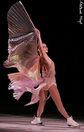 Figure skating star Sasha Cohen by tanya77761, via Flickr