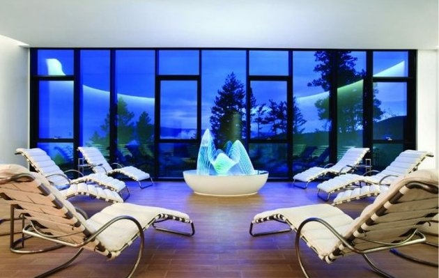 Sparkling Hill Resort - Kurspa. Its located in Canada. Beautiful scenery...