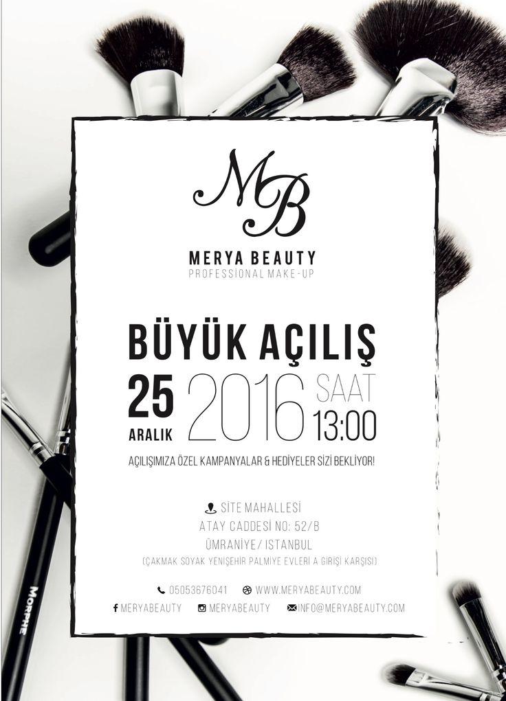 #broşür #tasarım #açılış #davet #design #kreativ #flyer #media #typo #typdesign #typography #blackwhite