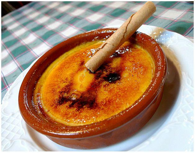 Postres: Crema Catalana, Gastronomia catalana
