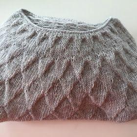 Da jeg var til åbent hus i Garnudsalg for nylig så jeg denne skønne ponchosweater på en kunde i butikken. Jeg faldt fuldstændig for d...