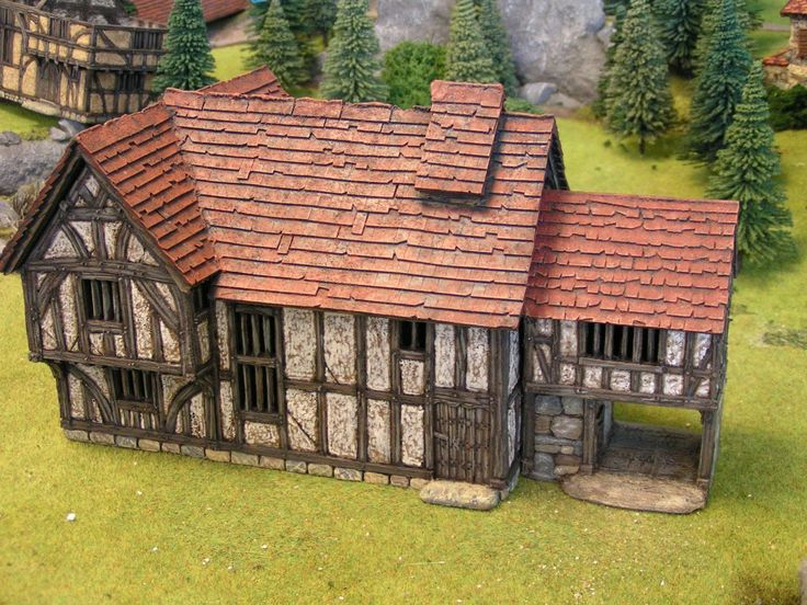 Dampfwerks: The Merchant's House in 28mm