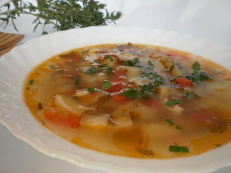 Bucataresele Vesele-retete culinare,retete ilustrate: Ciorba de legume