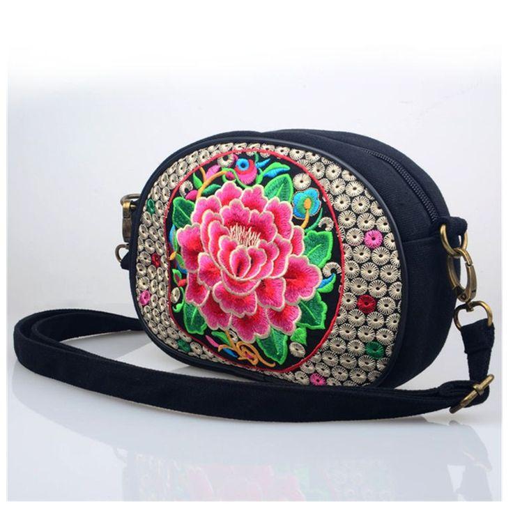 2016 женщины мешок продаж признакам народном стиле сумки пион разнообразие национальных вышивка вышитые сумки кошелек ранец(China (Mainland))