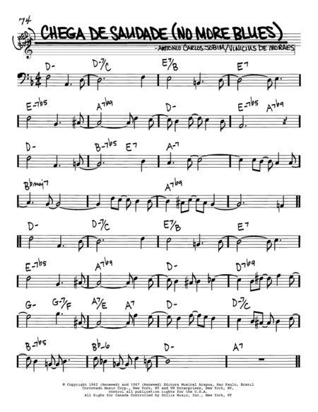 Chega De Saudade Trombone Partitura Pesquisa Google Partituras Saudade Chega