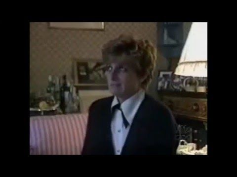 """A short but rare clip of Princess Diana seen dancing at a ball held at Balmoral. Shown in last night's ITV 1 documentary """"Elizabeth : Queen, Wife, Mother"""""""