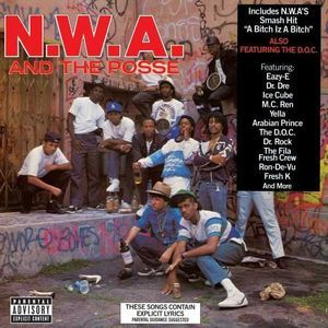 #FS N.W.A. And The Posse 2015 Reissue #Vinyl w/ 3D Lenticular Cover // New $29.95 @ http://www.discogs.com/sell/item/239942755 #NWA #Discogs #HipHop