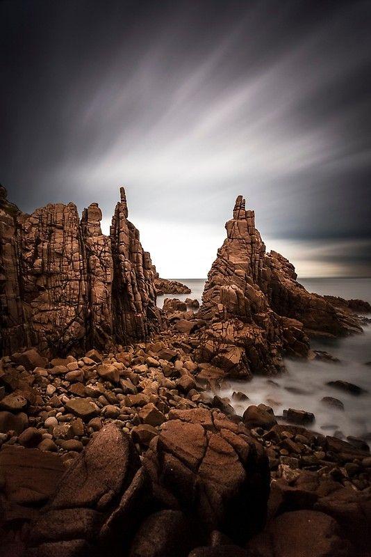 The Pinnacles, Phillip Island, rugged coast, ocean