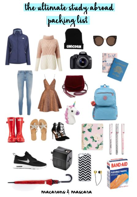 Oxford Study Abroad Packing List for Females - Her Packing ...