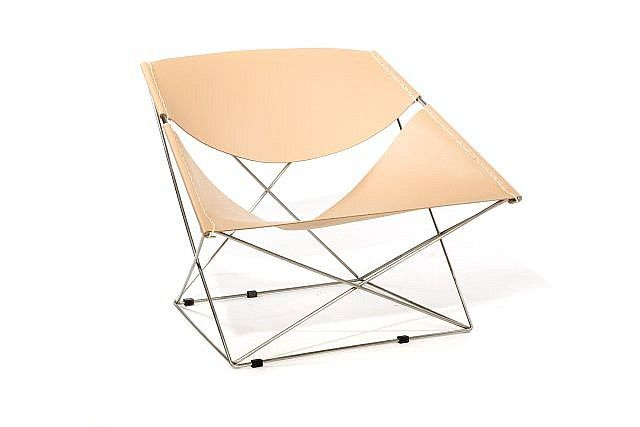 pierre paulin 1927 2009 fauteuil f 675 dit butterfly. Black Bedroom Furniture Sets. Home Design Ideas