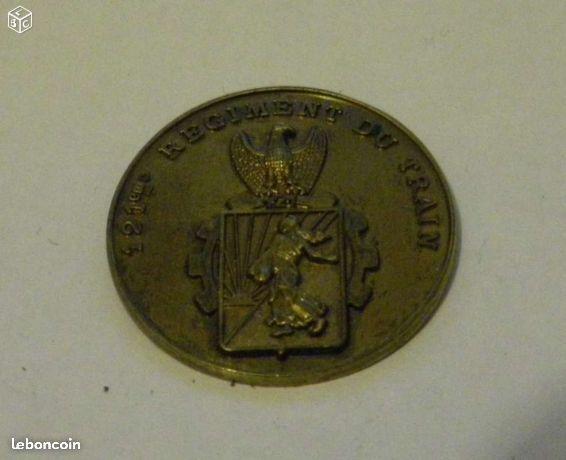 Medaille 121° regiment du train