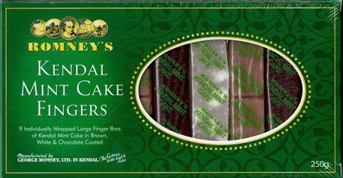 Romney's of Kendal Mint Cake Fingers 8.8 oz / 250g - http://bestchocolateshop.com/romneys-of-kendal-mint-cake-fingers-8-8-oz-250g/