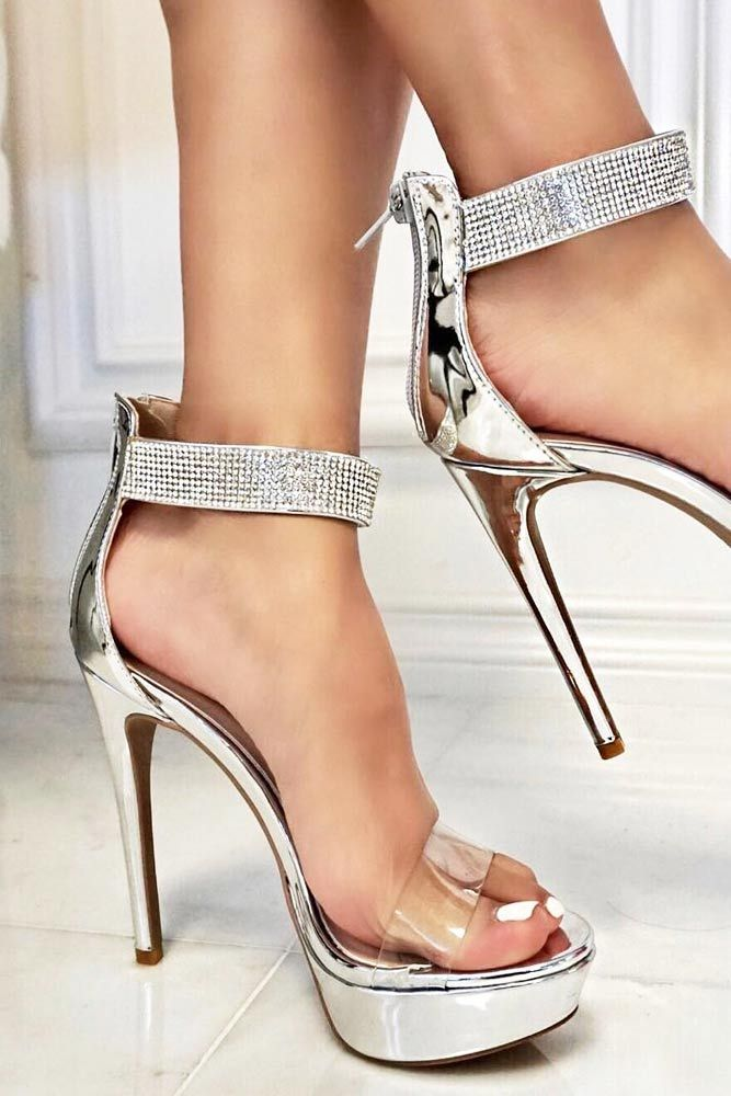 33 Silver Heels for Prom: Style Inspiration, Tips and Trends 2020 ...