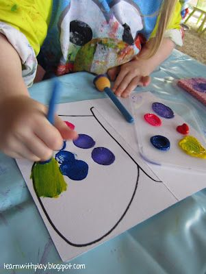 Learn with Play at home: Butterfly Craft (Including learning about Good Character)
