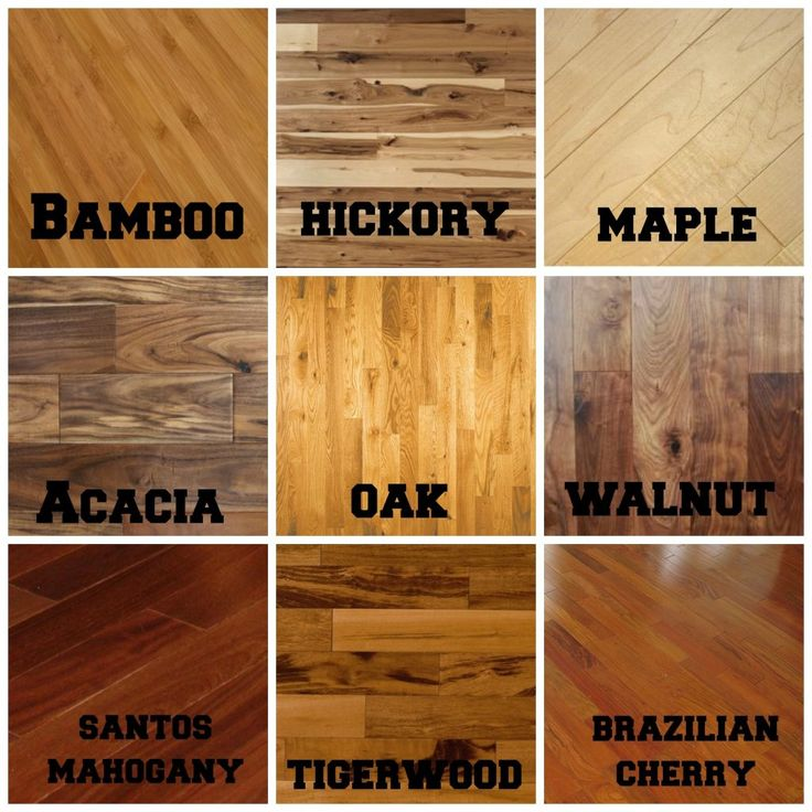 Compare Different Types Of Hardwood Floors