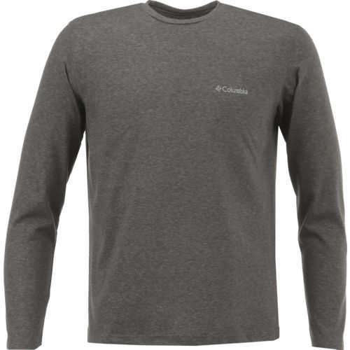 Columbia Sportswear Men's Thistledown Park Long Sleeve T-shirt (Grey Dark 02, Size XX Large) - Men's Outdoor Apparel, Men's Longsleeve Outdoor Tops...