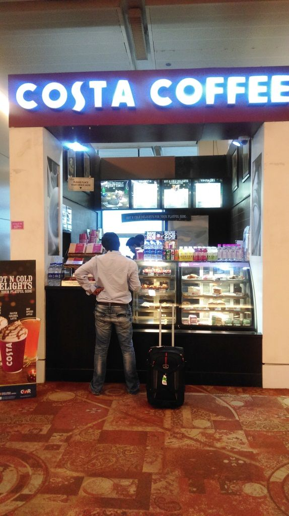 AKSHARDHAM-TOUR DELHI-02-2015 DINESH  PATEL AT DELHI AIRPORT LOUNGE.