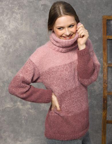Heft Damen Concept 2 Herbst / Winter | 48: Damen Pullover | Hellrosa / Mittelrosé