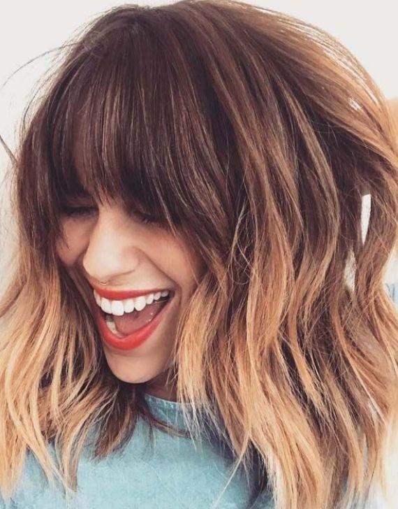 Yuvarlak Yuzler Icin Orta Boy Sac Modelleri 2019 Hairstyles