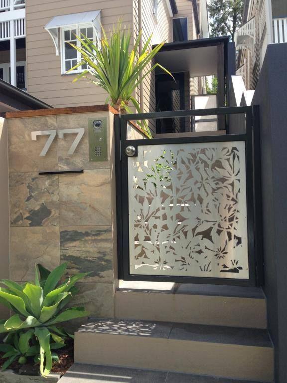 Material : Stainless Steel Urban Metal Design : Frangipani