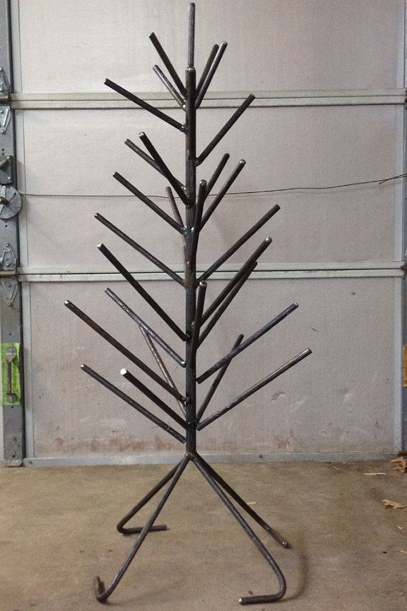 Basic tree shown no bottles  Wine Bottle or Beer Bottle Trees have the look by theperidotwindow