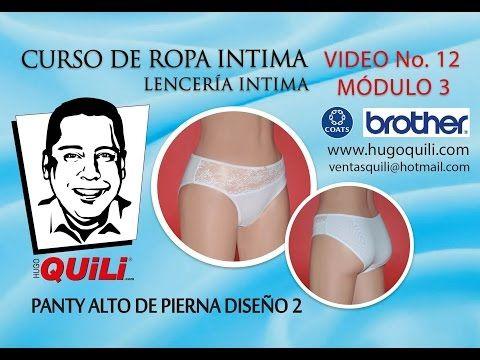CURSO DE ROPA INTIMA Lencería intima Tomo 1 Módulo 3 Video 12 - YouTube