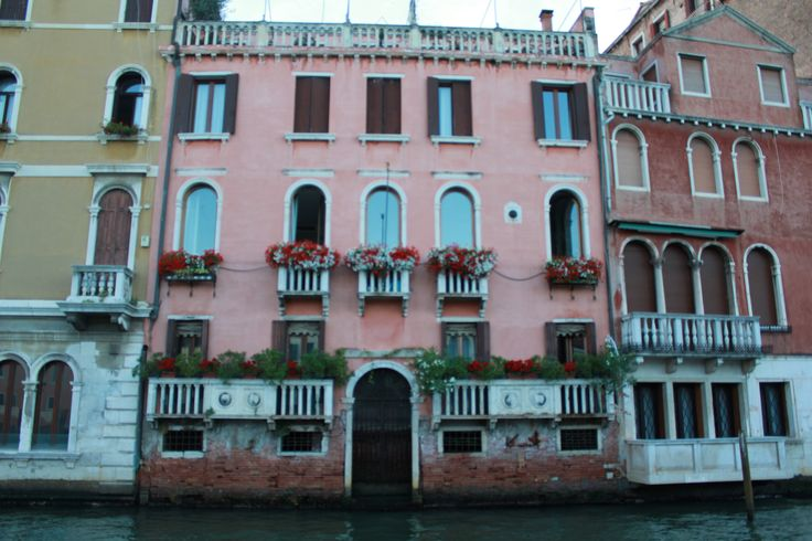 Beautiful buildings along Grand Canale