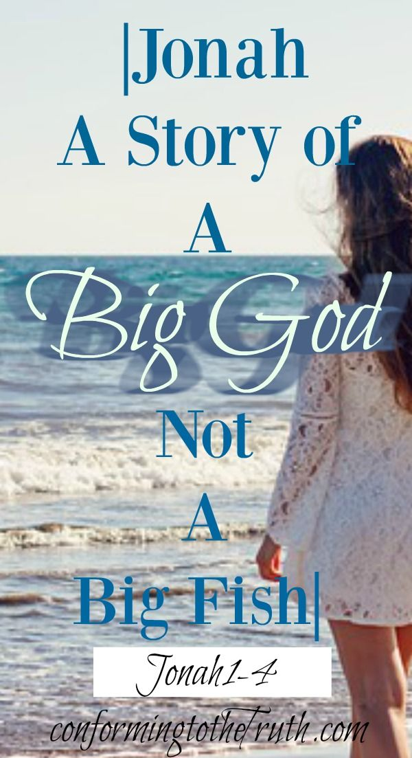 We all know the story of Jonah! The four chapter book on a big fish, right? Well, Jonah is not a story about a big fish but our Big Amazing God! Join us as we do a bible study through 12 Old Testament books. Get your free study guide today!
