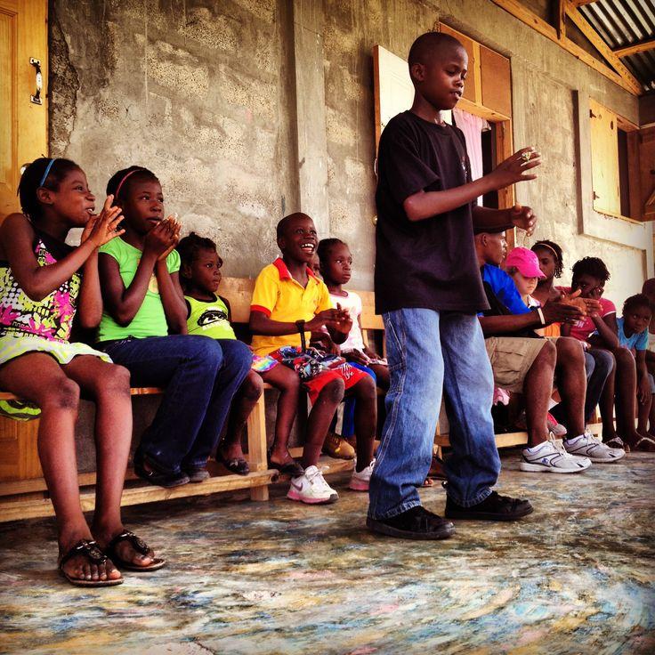 Breakin it down at Philadelphia, Gonaives, Haiti