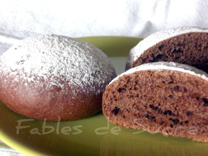 Brioche Fior di Latte al cioccolato fondente a lievitazione naturale
