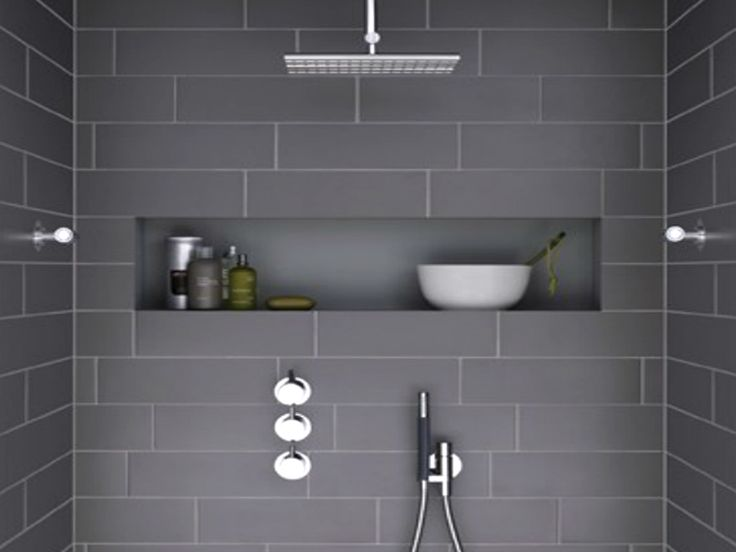 Shower panel by Vola