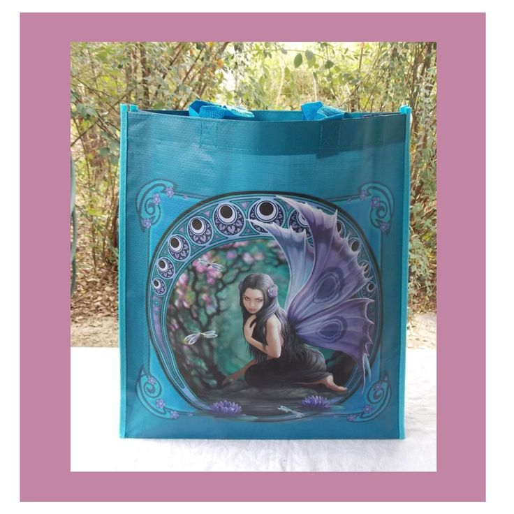 ANNE STOKES SHOPPING BAG NAIAD I COOL CAT COLLECTABLES
