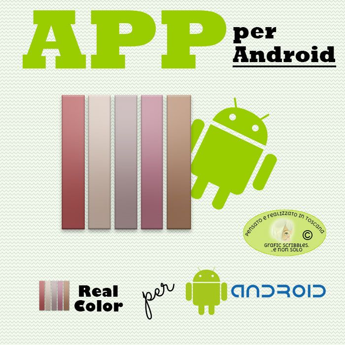 Real Color, Applicazione free per Android http://graficscribbles.blogspot.it/2016/03/Applicazioni-app-android-realcolor-palette-colori.html