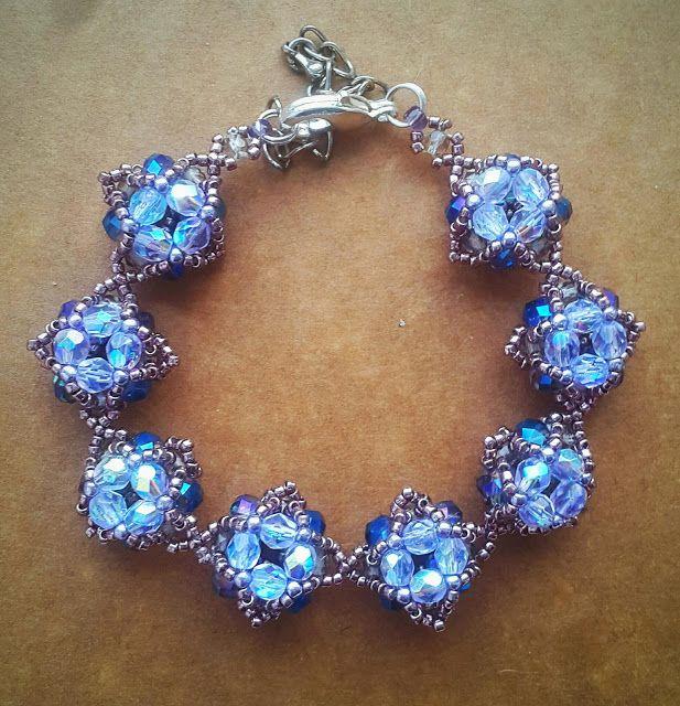biżuteria soutache, haft koralikowy, torby z filcu: Bransoletka II