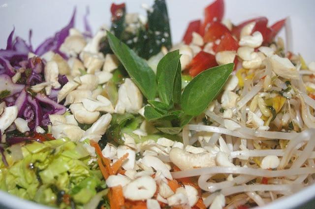 Vietnamese Salad & dressing recipe