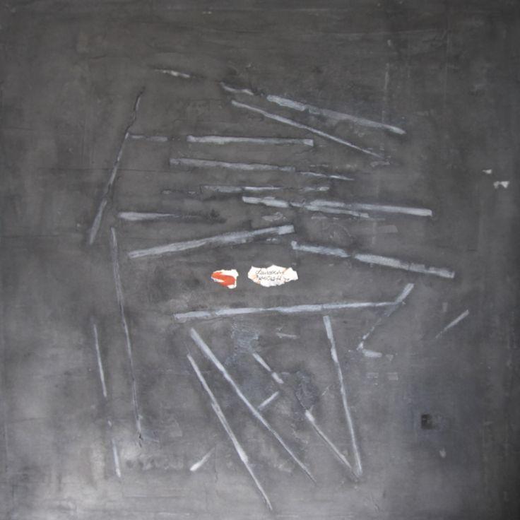 rods (2011) 120x120cm mixed media on canvas daniel soukup
