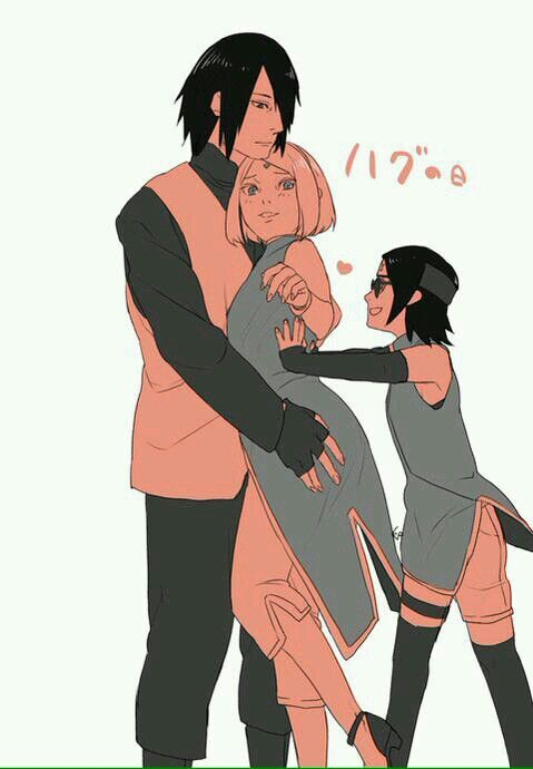 naruto and sarada relationship problems