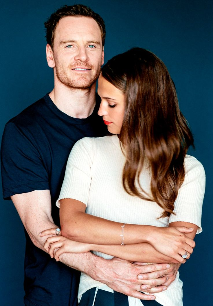 Michael Fassbender and Alicia Vikander. Gorgeous.