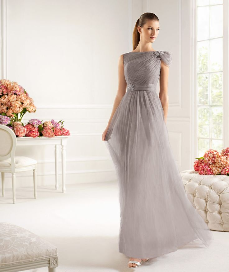 Pronovias presents the Castiza cocktail dress from the Maid of Honour 2013 collection. | Pronovias