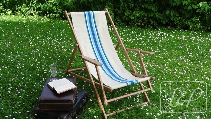 Chaise longue transat chilienne des ann es 30 meubles - Chilienne chaise longue ...
