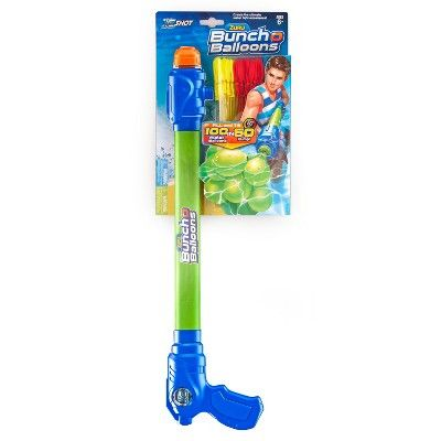 Zuru Bunch O Balloons On the Go Water Balloon Filler with 3pk of Bob (100 Balloons),