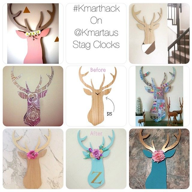 Kmart Stag clock hack