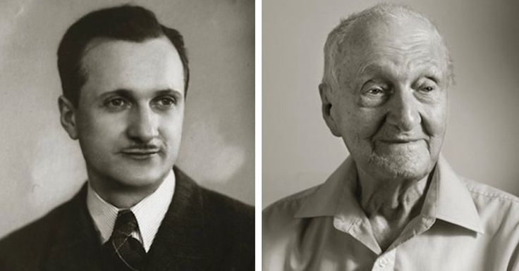 In Faces of Century, photographer Jan Langer presents then-and-now photos of Czech people as young adults and at 100 years old.