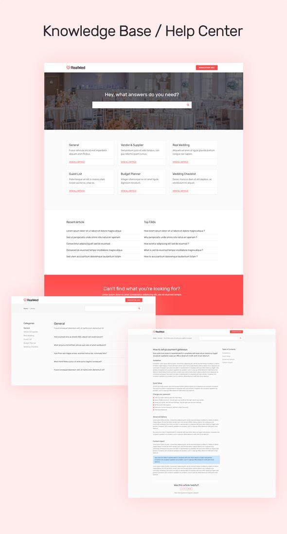 Realwed Wedding Supplier Directory Listing Html Template Web Design Quotes Web Design Websites Web Design Help
