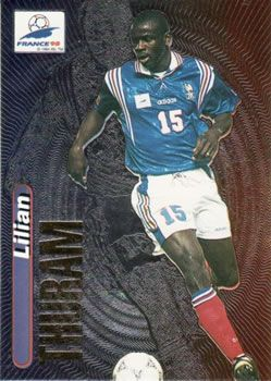 1998 Panini World Cup #13 Lilian Thuram Front
