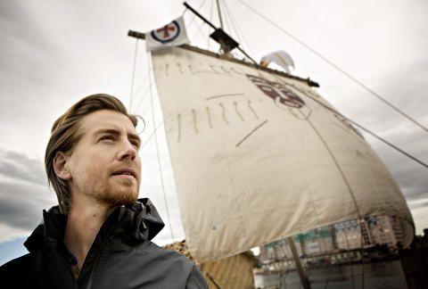 IMPONERER: Pål Sverre Valheim Hagen imponerer de amerikanske anmelderne med sin tolkning av Thor Heyerdahl. Foto: Lars Eivind Bones / Dagbladet